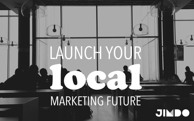 Launch your local marketing future - Jimdo
