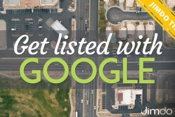 Get listed with Google