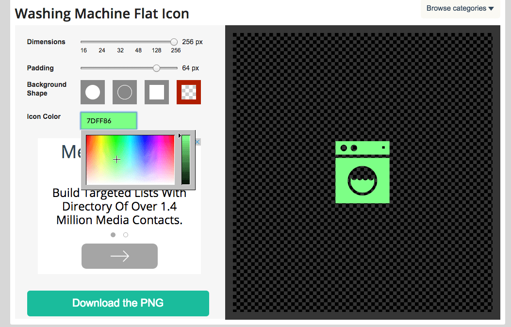 flaticons.net is another great source for finding and customizing icons.