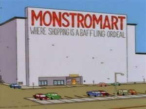 simpsons monstromart