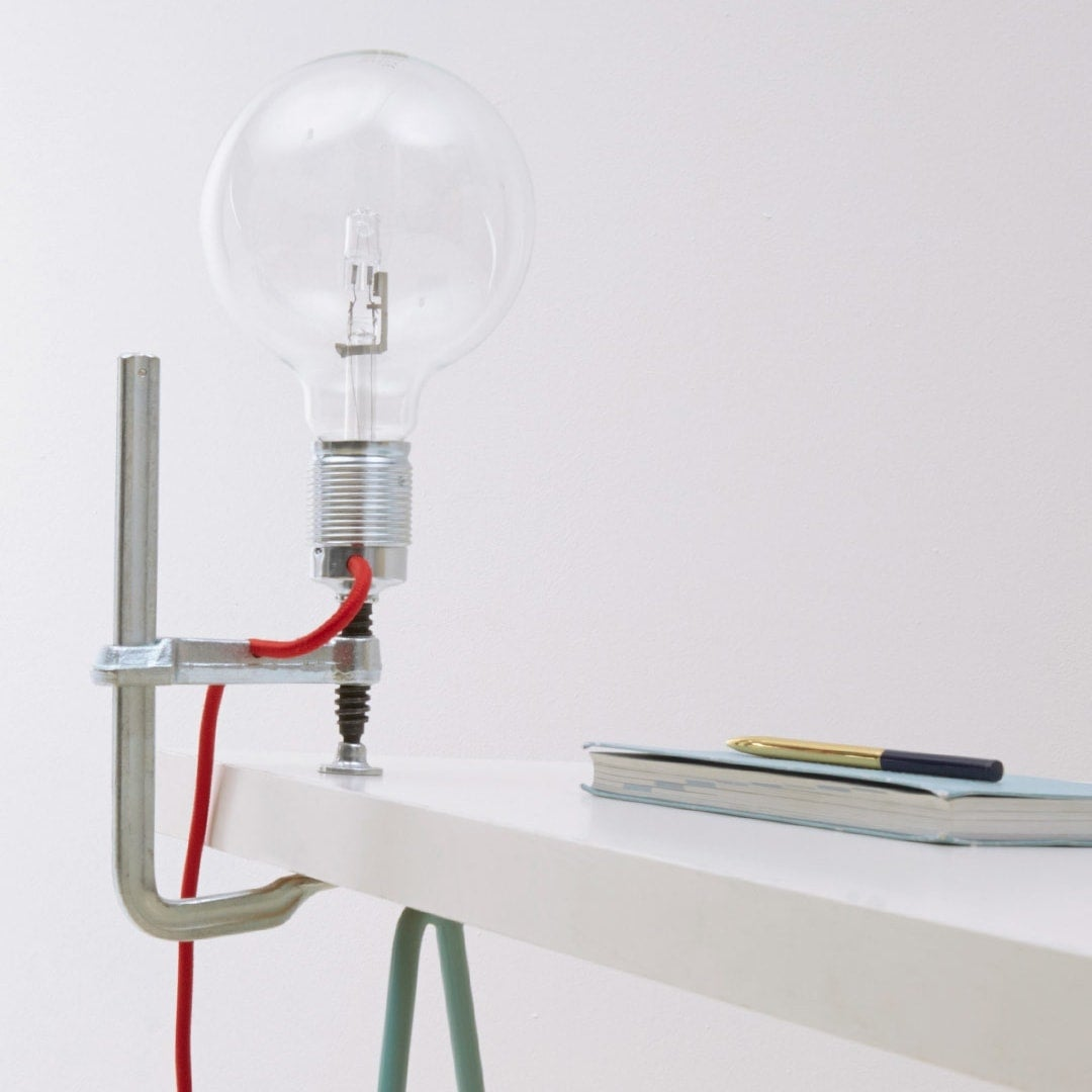 Lucas & Lucas clamp light