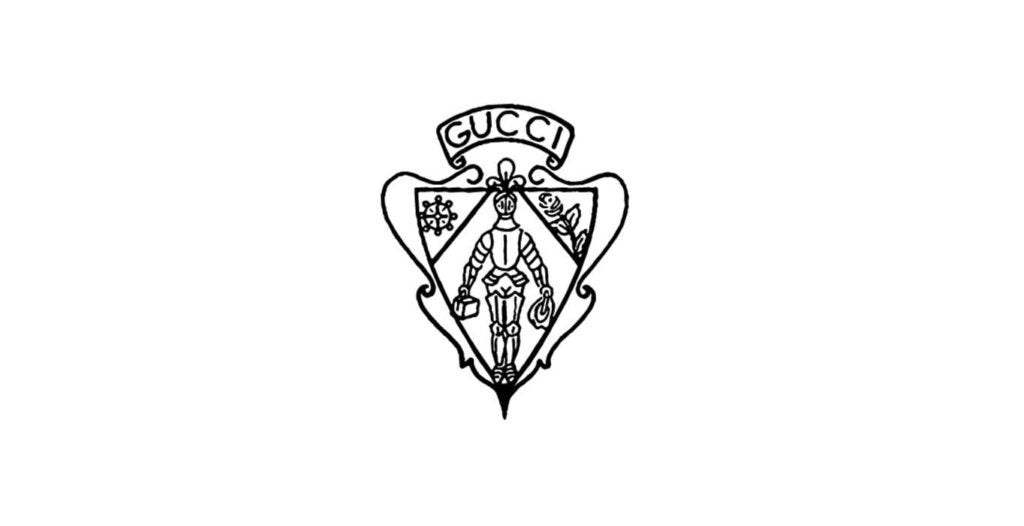 Gucci logo evolution 1955