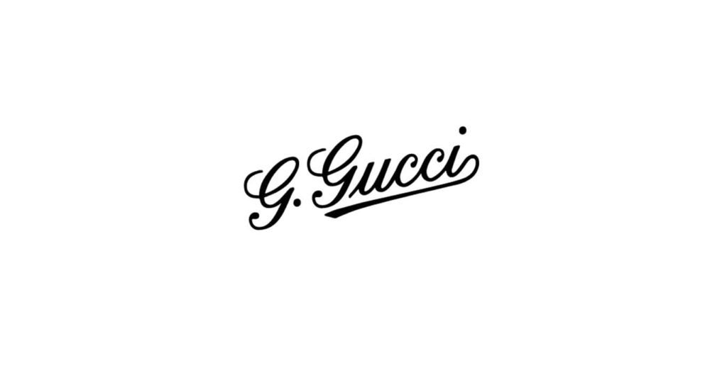 Gucci logo evolution 1921