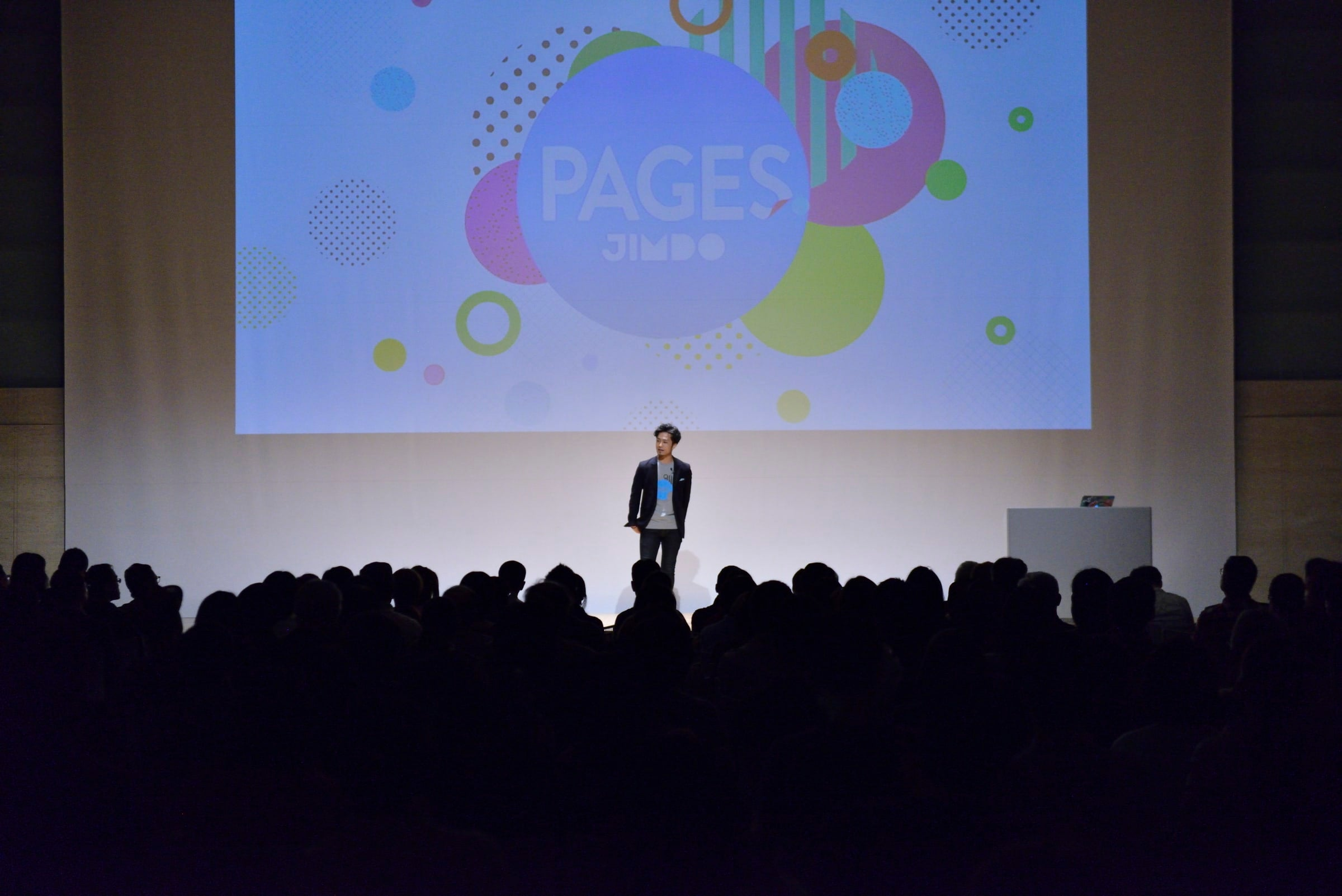 "Jimdo-Event ""Pages"""